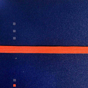 Orange elastic band